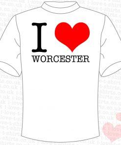 I Love Worcester T-shirt