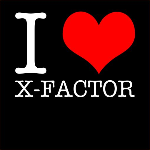 I Love X-Factor T-shirt